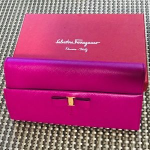 Salvatore Ferragamo Wallet Hyacinth pink/purple